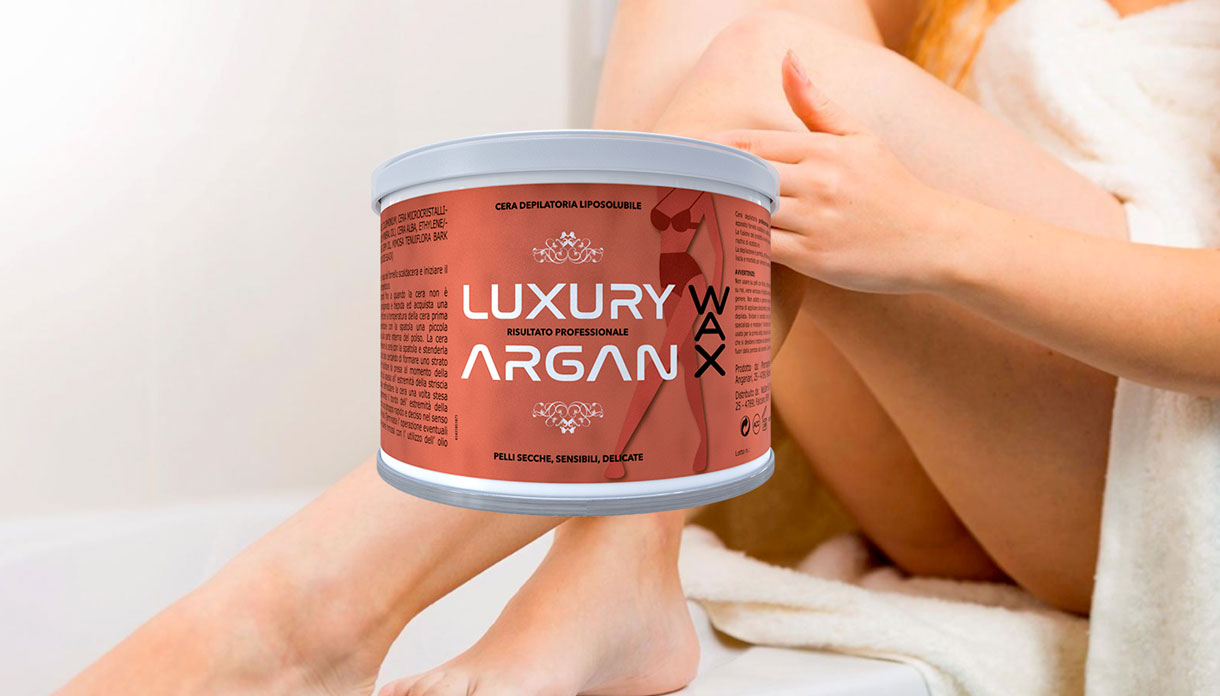 argan wax cera depilatoria
