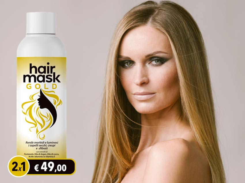 hair mask gold benefici